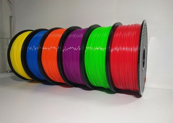 चीन 1.75mm 1KG ABS 3D Printer Filament Spool Master Filament With Good Elasticity आपूर्तिकर्ता