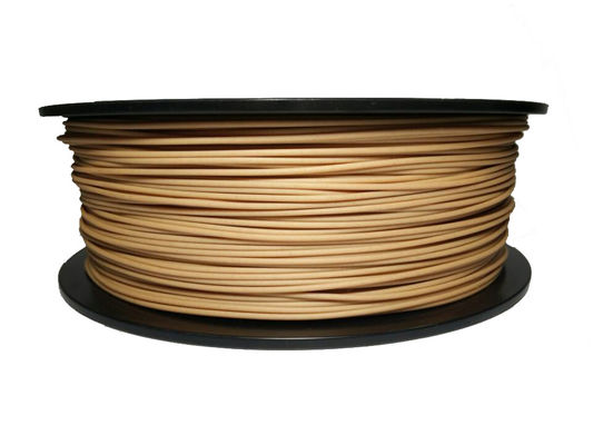 चीन Natural 1.75MM Wood 3D Printer Filament 1kg 3kg For 3D Printers / 3D Pen फैक्टरी