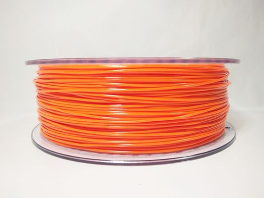 चीन 1.75mm Flexible TPU 3D Printing Filament , Dimensional Accuracy +/- 0.05 mm 1KG Spool वितरक