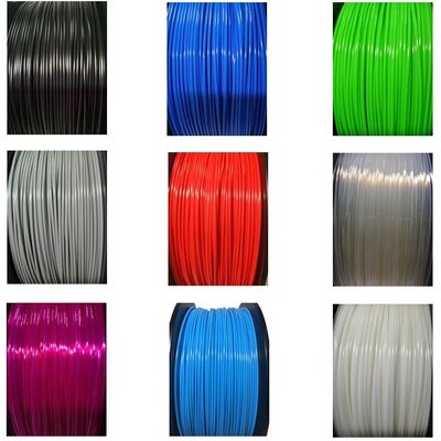 चीन Multi Color 1kg 1.75mm Diameter TPE TPU 3D Printer Filament Abrasion Resistant वितरक