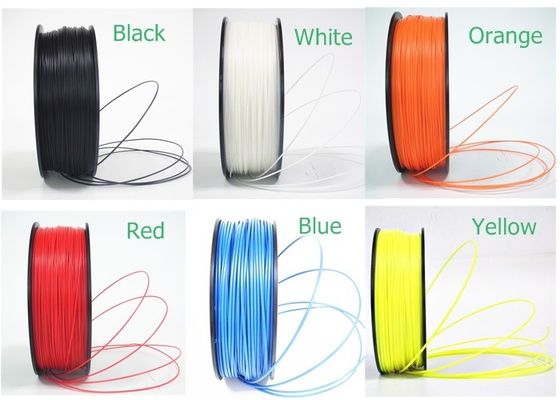 चीन Plastic Rod 1.75mm / 2.85mm ABS / PLA / HIPS 3D Printer Filament वितरक